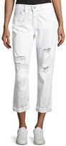 AG Adriano Goldschmied Ex-Boyfriend Slim Denim Jeans, White