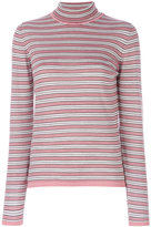 Marni turtle neck sweater - women - Silk/Virgin Wool - 40
