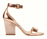 Jimmy Choo Edina Rose Gold Sandals