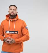 Ellesse Oversized Overhead Jacket In Orange