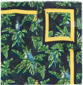 Stella McCartney foliage print scarf