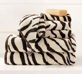 Zebra Jacquard Bath Towels