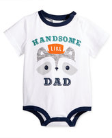 First Impressions Baby Boys' Handsome Like Dad Bodysuit, Only at Macy's