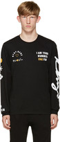 Kenzo Black 'I Am Your #1 Fan' T-Shirt