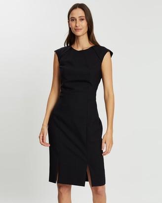 Farage Dahlia Stellar Stripe Dress
