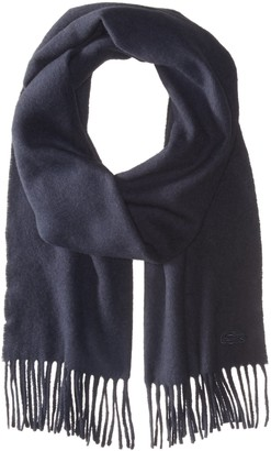 Lacoste Women's Solid Wool Cashmere Scarf