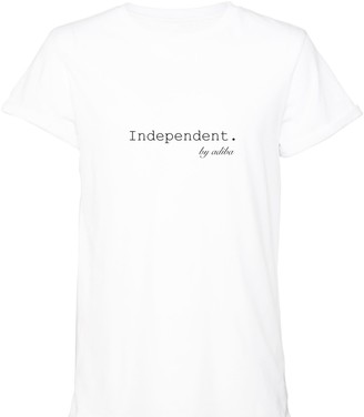 Adiba Independent White Tee