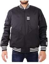 adidas Men's Black Polyester Outerwear Jacket.