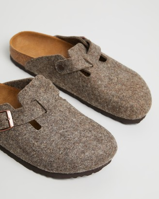 Birkenstock Boston Wool Felt Narrow Shoes - Women's