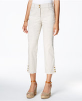 Charter Club Printed Capri Pants, Only at Macy's