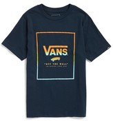 Vans Boy's Logo Box Graphic T-Shirt