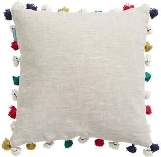 HBC Stripes x Bluebellgray Linen Tassel Cushion