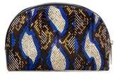 Dubai Snakeskin Cosmetic Bag