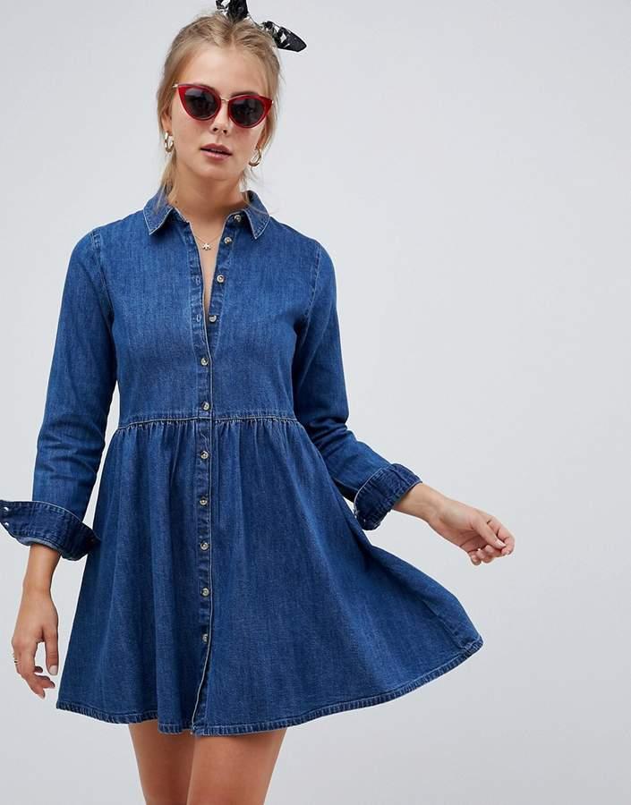 7b2e4803ead Asos Denim Dresses - ShopStyle