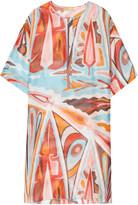 Emilio Pucci Printed silk-gauze kaftan