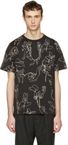 Paul Smith Black Floral T-Shirt