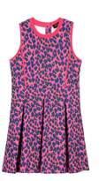 Juicy Couture Off Beat Leopard Scuba Dress