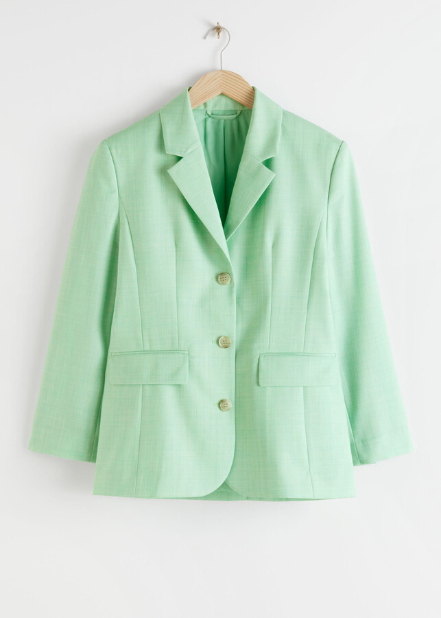 And other stories Tailored Twill Blazer