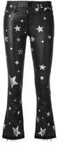 RtA star print cropped trousers