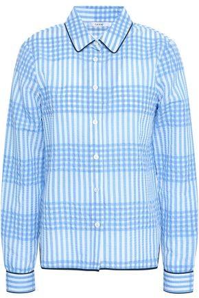 1a45cc99 Ganni Blue Women's Longsleeve Tops - ShopStyle