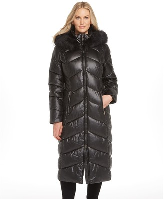 Gallery Faux Down Puffer Coat