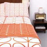Orla Kiely Linear Stem Persimmon Quilt Cover Set
