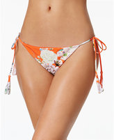 Rachel Roy Botanical Side-Tie Cheeky Bikini Bottoms Women's Swimsuit