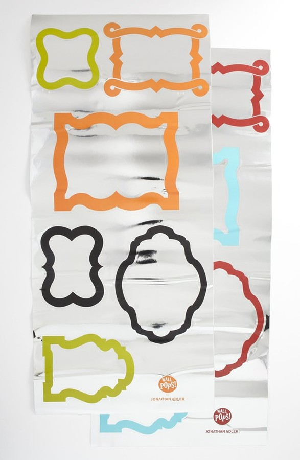 Jonathan Adler Wallpops 'Enamel Frames' Wall Art