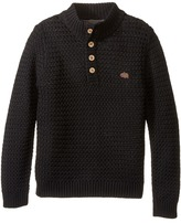 Lucky Brand Kids Basket Weave with Button Front Sweater (Little Kids/Big Kids)