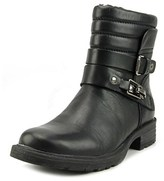 Earth Pepperidge Women Round Toe Leather Ankle Boot.