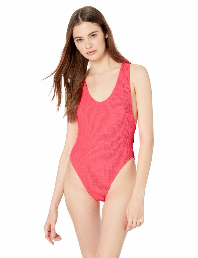 Volcom Junior's Women's On Ur Neon One Piece Swimsuit
