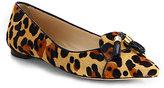 Kate Spade Grenada Leopard Calf Hair Flats