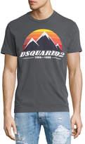 DSQUARED2 D2 Peaks Logo T-Shirt