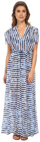 Seafolly Inked Stripe H2O Maxi Cover-Up