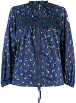Moncler printed funnel neck jacket - women - Polyamide - 0