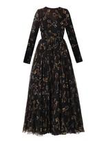 uncategorized  Who made Michelle Monaghans white key print dress?