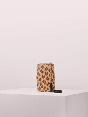 Kate Spade margaux leopard phone crossbody