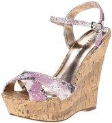 Madden-Girl Women's Evonne Wedge Sandal