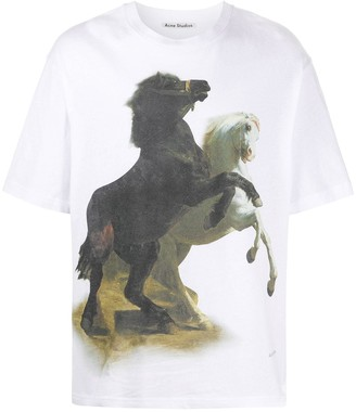 Acne Studios horse-print T-shirt