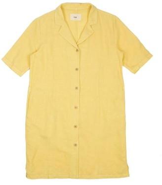 Folk Soft Collar Dress Light Gold - 0 / / 26