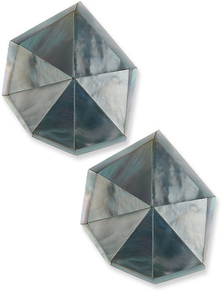 Viktoria Hayman Star Dust Resin Clip-On Earrings