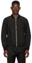Burberry Black Eddison Bomber Jacket