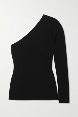 Stella McCartney One-sleeve Knitted Sweater - Black