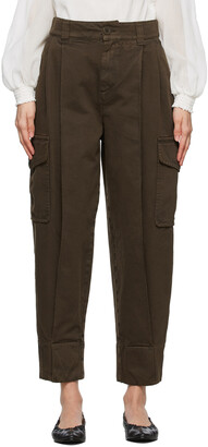 See by Chloe Brown Large Pocket Army Trousers