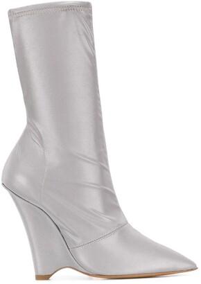Yeezy Reflective Sock Boots