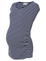 Jeanswest Sash Maternity Stripe Tee-Deep Iris/White-XS