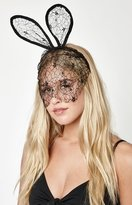 La Hearts Lace Bunny Ears