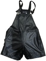 Rag & Bone Black Leather Jumpsuits