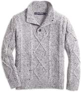 Brooks Brothers Boys' Cable-Knit Sweater