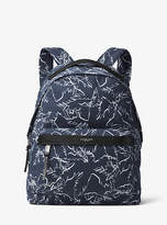 Michael Kors Grant Palm-Print Backpack